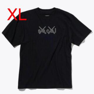 sacai - XL sacai x KAWS Tシャツ ブラック サイズ3 XL新品