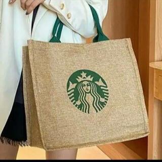 Starbucks Coffee - スターバックス スタバ  トートバッグ ジュート エコバッグ N4