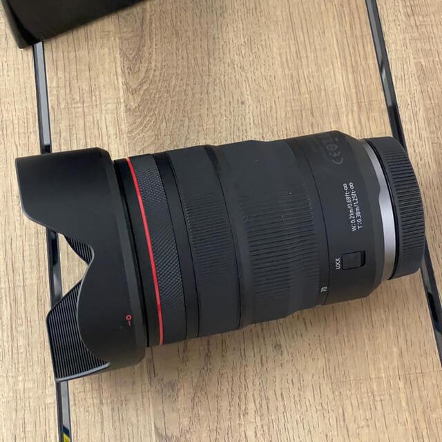 Canon(キヤノン)の■値下げ■Canon RF24-70mm f2.8■美品■キヤノン スマホ/家電/カメラのカメラ(レンズ(ズーム))の商品写真