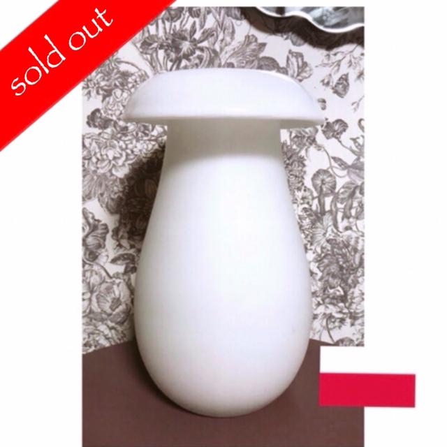 IKEA(イケア)のマッシュルーム形のフラワーベース インテリア/住まい/日用品のインテリア小物(花瓶)の商品写真