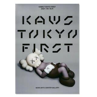 MEDICOM TOY - KAWS ポスター (KAWS TOKYO FIRST)