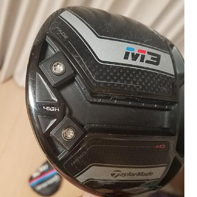 TaylorMade(テーラーメイド)のテーラーメイド M3 ドライバー(440cc) スポーツ/アウトドアのゴルフ(クラブ)の商品写真