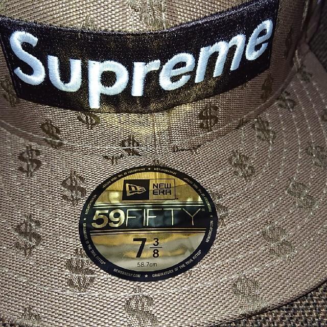 Supreme(シュプリーム)の7 3/8 supreme monogram new era brown メンズの帽子(キャップ)の商品写真