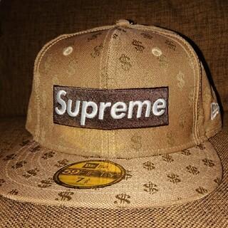 Supreme - 7 3/8 supreme monogram new era brown
