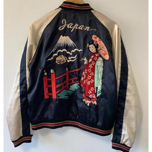 東洋エンタープライズ(トウヨウエンタープライズ)のテーラー東洋 リバーシブルサテンスカジャン メンズのジャケット/アウター(スカジャン)の商品写真