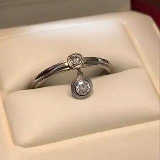 カルティエ(Cartier)のカルティエ ディアマン ダイヤリング 美品 ♯48 正規購入(リング(指輪))