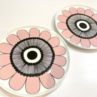 マリメッコ(marimekko)のmarimekko ケスティト 2枚セット(食器)