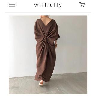 willfully ワンピース(ロングワンピース/マキシワンピース)