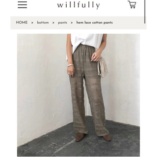 willfully パンツ(その他)