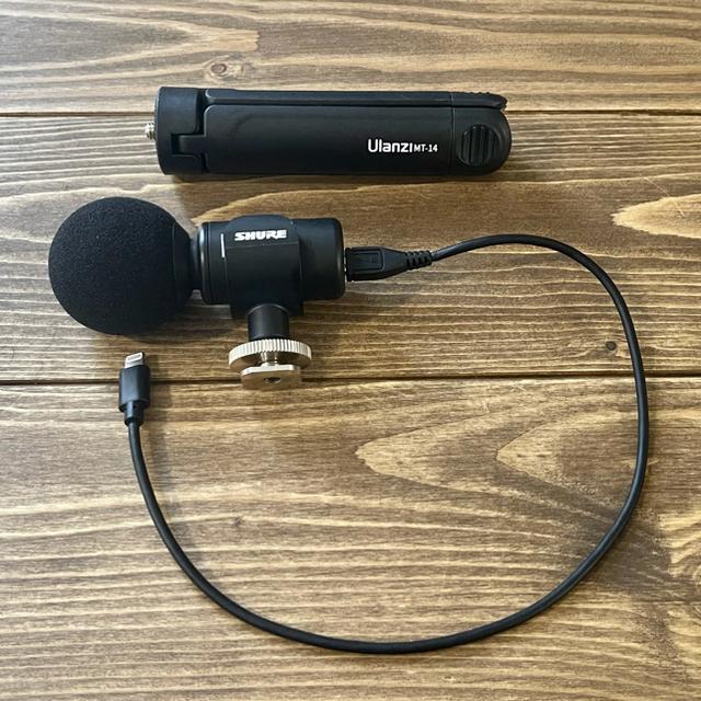 Shure MV88+ マイク スマホ iPhone スマホ/家電/カメラのスマホアクセサリー(その他)の商品写真