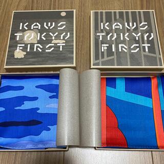 メディコムトイ(MEDICOM TOY)の【新品】カウズ ハンカチ KAWS TOKYO FIRST  (その他)