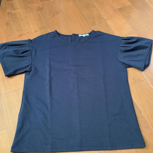 23区(ニジュウサンク)の23区 32 Tシャツ ネイビー メンズのトップス(Tシャツ/カットソー(半袖/袖なし))の商品写真