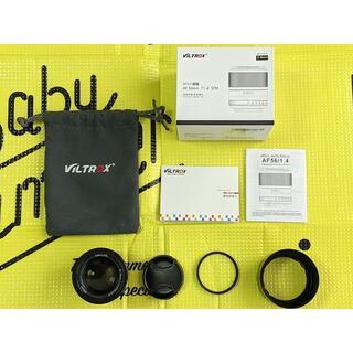 VILTROX 56mm F1.4 Xマウント レンズフィルター付き