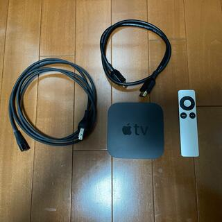 アップル(Apple)の【値下げ】Apple TV 第三世代 リモコン HDMIケーブル付(テレビ)