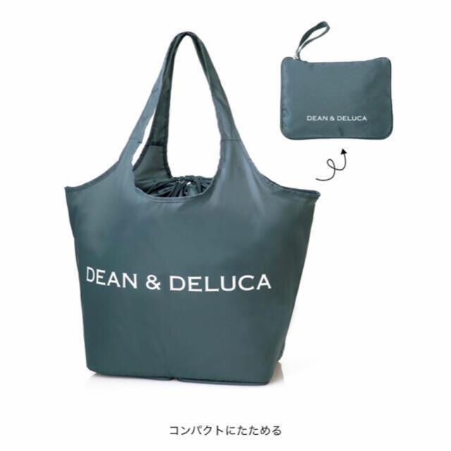 DEAN & DELUCA(ディーンアンドデルーカ)の【新品】レジかご買物バッグ+保冷ボトルケース GLOW付録 エンタメ/ホビーの雑誌(ファッション)の商品写真