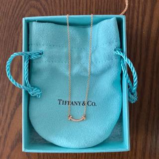 Tiffany & Co. - ティファニーTスマイルネックレスミニ