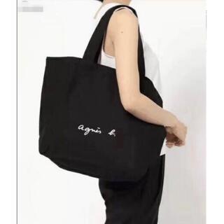 agnes b. - ❣️数量限定❣️アニエスベー ロゴ トートバッグ Lサイズ ブラック