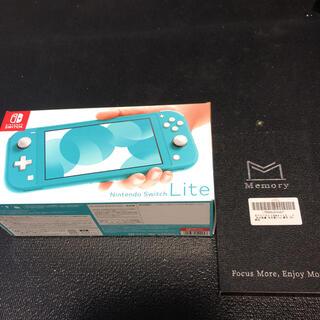 Nintendo Switch - Nintendo Switch  Lite ターコイズ 保護フィルム付き