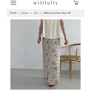 willfully スカート(ロングスカート)