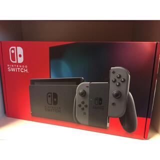 Nintendo Switch - 新品未開封 ニンテンドー スイッチ 本体 Nintendo Switch グレー