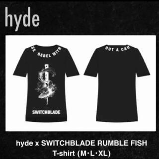 HYDE着用スイッチブレード ラルク 衣装デザインTシャツ XL 未使用