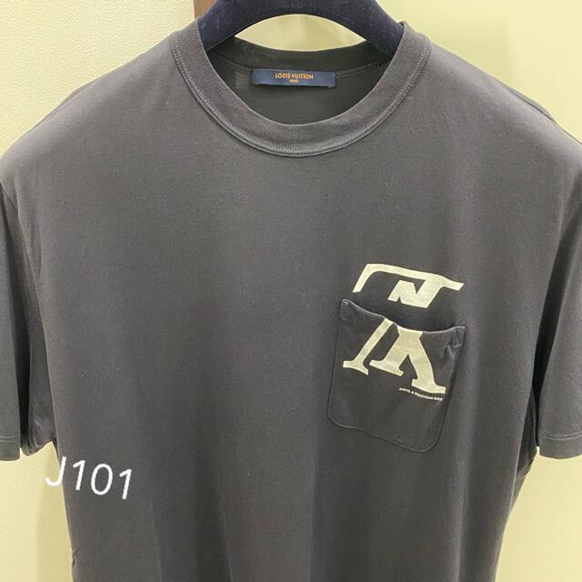 LOUIS VUITTON(ルイヴィトン)のルイヴィトン 逆さLV Tシャツ アップサイドダウン メンズのトップス(Tシャツ/カットソー(半袖/袖なし))の商品写真