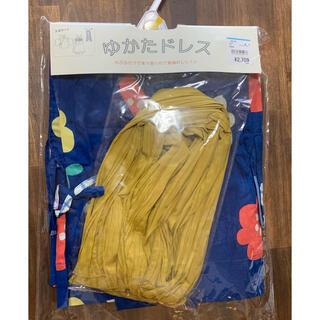 ニシマツヤ(西松屋)のゆかたドレスセット 100(甚平/浴衣)