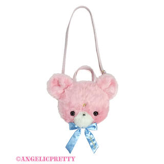 Angelic Pretty - Angelic Pretty Milkyベアーフェイス3wayバッグ ピンク