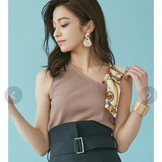 リゼクシー(RESEXXY)のリゼクシー ♡スカーフモチーフトップス(Tシャツ(半袖/袖なし))