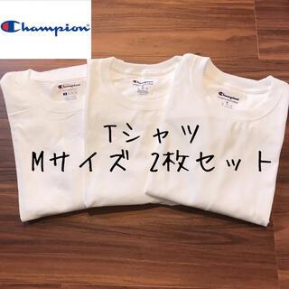 Champion - 【訳あり】champion チャンピオン メンズ 半袖 Tシャツ 白T 洋服 M