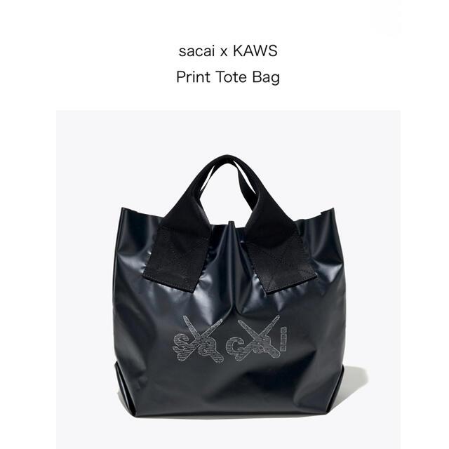 sacai(サカイ)のsacai x KAWS Print Tote Bag レディースのバッグ(トートバッグ)の商品写真