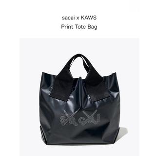 sacai - sacai x KAWS Print Tote Bag