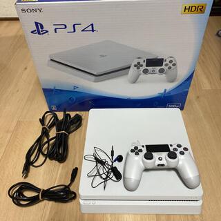 PlayStation4 - PlayStation®4 グレイシャー・ホワイト 500GB CUH-210…
