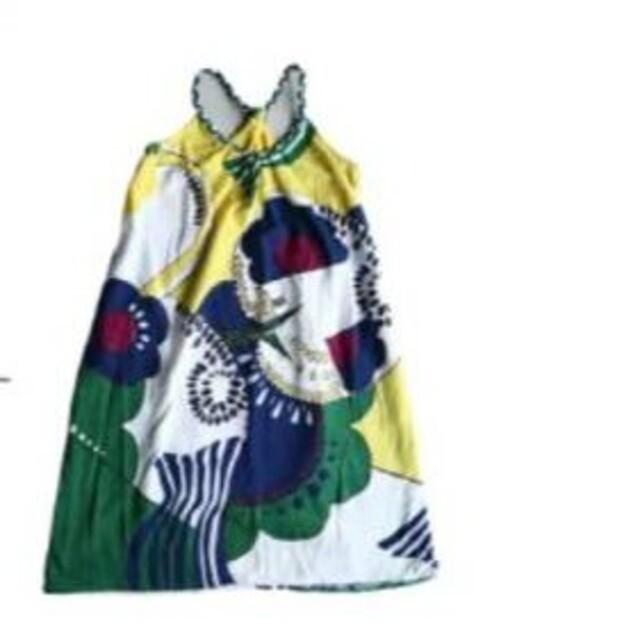 antiqua(アンティカ)のアンティカフェ カラフルキャミワンピース レディースのワンピース(ロングワンピース/マキシワンピース)の商品写真