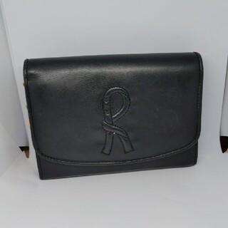 ROBERTA DI CAMERINO - 【正規品】ロベルタディカメリーノ ブラック 折財布  L字ファスナー