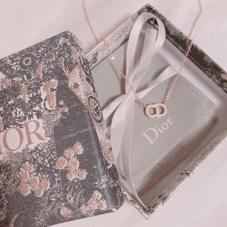 CDロゴネックレス Dior