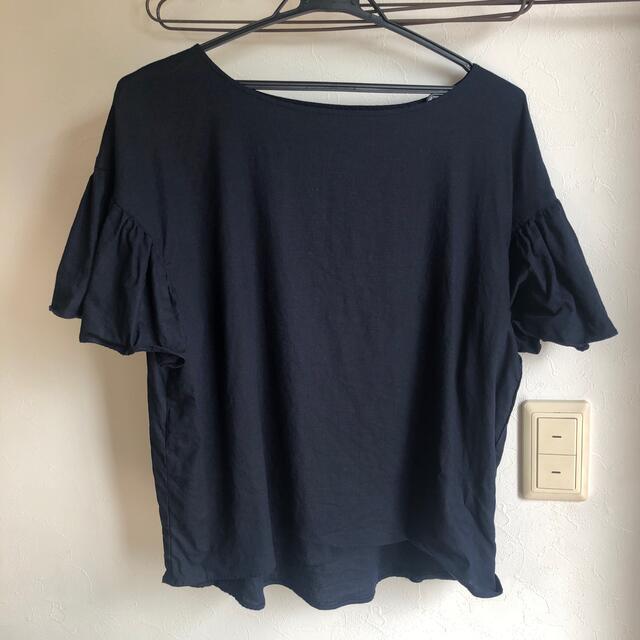 IENA SLOBE(イエナスローブ)のSLOBE IENA スローブイエナ リネンボートネック レディースのトップス(シャツ/ブラウス(半袖/袖なし))の商品写真