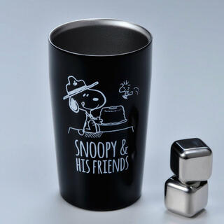 SNOOPY - スヌーピー ステンレスタンブラーアイスキューブ2個付き 300ml