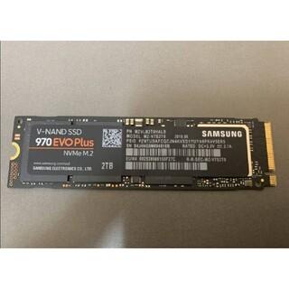 SAMSUNG - SAMSUNG 970 EVO Plus 2TB SSD 中古