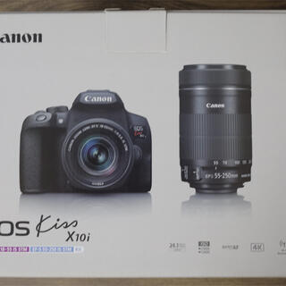 Canon - EOS Kiss x10i ダブルズームキット