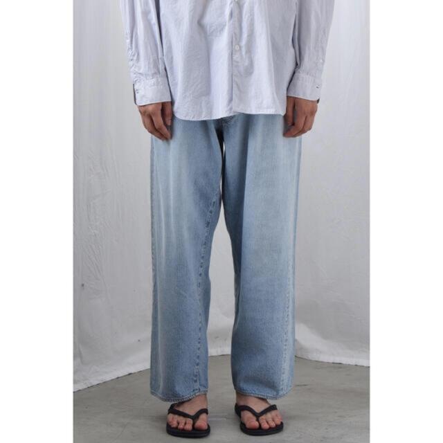 COMOLI(コモリ)の【美品】 21SS comoli 5pデニム ブリーチ メンズのパンツ(デニム/ジーンズ)の商品写真