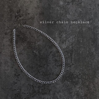 Maison Martin Margiela - 再入荷 silver chain necklace