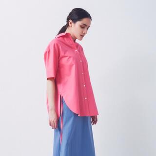yori ショートスリーブシャツ ピンク