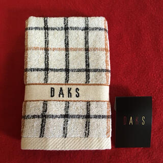 DAKS - ダックス ウォッシュタオル (新品・未使用、シール付)