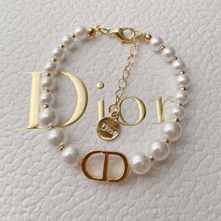 Dior - ロゴブレスレット パール✨