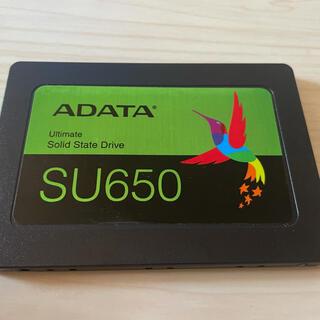ADATA SSD 480GB  SU650 使用時間50時間