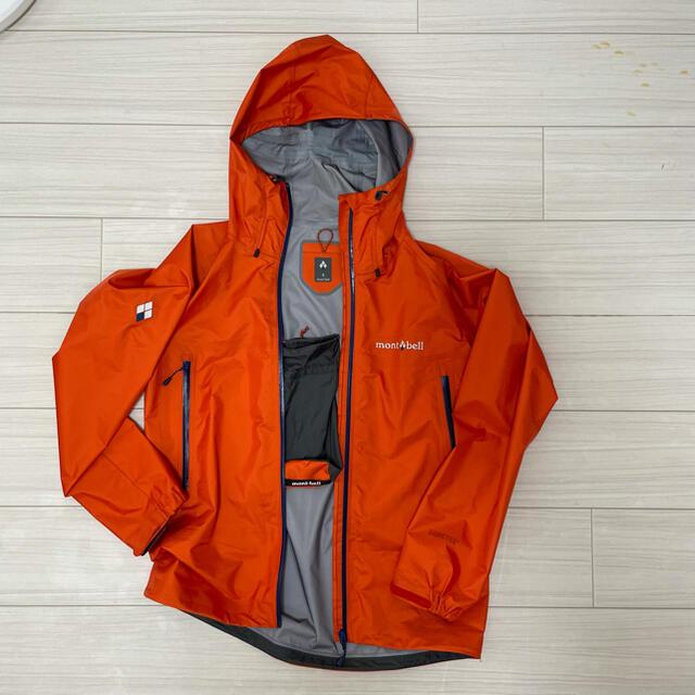mont bell(モンベル)のモンベルジャケット サイズS スポーツ/アウトドアのアウトドア(登山用品)の商品写真
