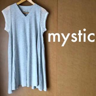 mystic - ★美品★ ミスティック mystic Tシャツ カットソー ワンピース
