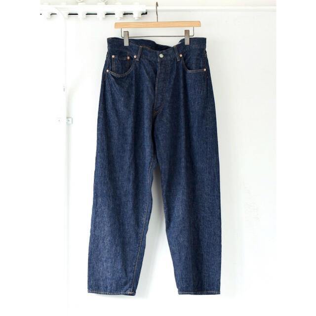 COMOLI(コモリ)のCOMOLI 21AW デニム5Pパンツ ネイビー サイズ1 新品未使用 メンズのパンツ(デニム/ジーンズ)の商品写真