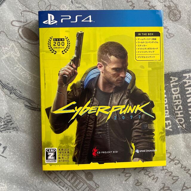 PlayStation4(プレイステーション4)のサイバーパンク2077 PS4 エンタメ/ホビーのゲームソフト/ゲーム機本体(家庭用ゲームソフト)の商品写真
